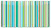 Vertical Stripe Checkbook Cover