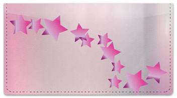 Cascading Star Checkbook Cover
