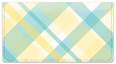 Pretty in Plaid Checkbook Cover