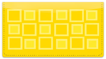 Retro Squares Checkbook Cover