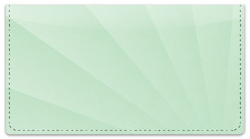 Rays of Light Checkbook Cover