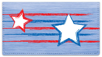 Stars & Stripes Checkbook Cover