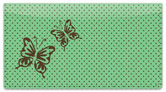 Butterfly Design Checkbook Cover