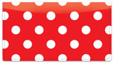 Polka Dot Checkbook Cover