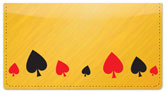 Playing Card Checkbook Cover