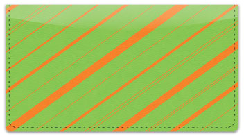 Colorful Pinstripe Checkbook Cover