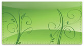 Peaceful Vine Checkbook Cover