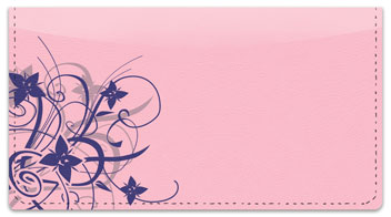 Floral Explosion Checkbook Cover