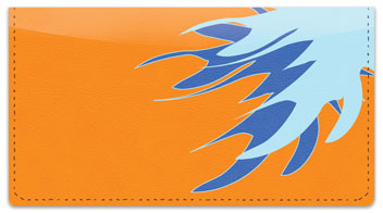 Bursts of Color Checkbook Cover