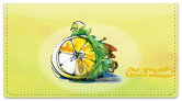 Fruits for Health Checkbook Cover