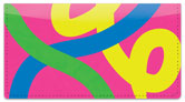 Paint Strokes Checkbook Cover