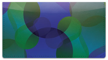 Psychedelic Bubble Checkbook Cover