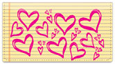 Cute Doodle Checkbook Cover