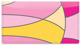 Hot Pink Curves Checkbook Cover