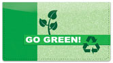Going Green Checkbook Cover