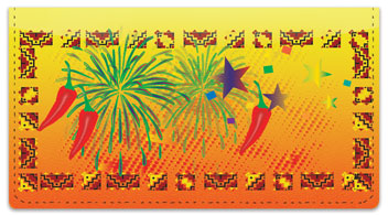 Southwestern Celebration Checkbook Cover