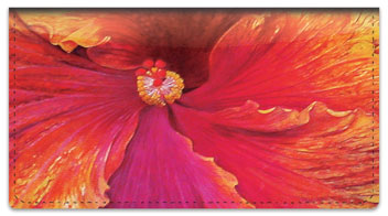 Natural Close Up Checkbook Cover
