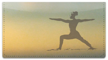 Yoga Checkbook Cover