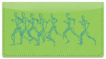 Joy of Running Checkbook Cover