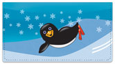 Cute Penguin Checkbook Cover