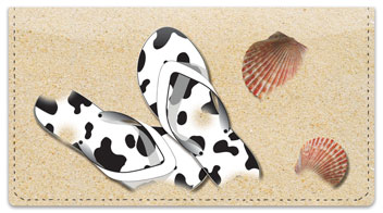 Flip Flop Checkbook Cover