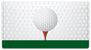 Gone Golfing Checkbook Cover