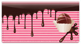 Chocolate Lover Checkbook Cover