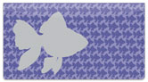 Fish Pattern Checkbook Cover