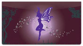 Fantasy Fairy Checkbook Cover
