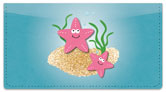Silly Sea Life Checkbook Cover
