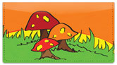 Woodland Toadstool Checkbook Cover