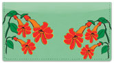 Hanging Flower Checkbook Cover