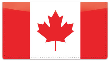 Canadian Pride Checkbook Cover