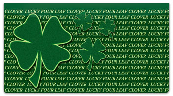 Get Lucky Checkbook Cover
