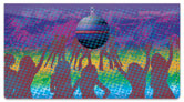 Dance Fever Checkbook Cover