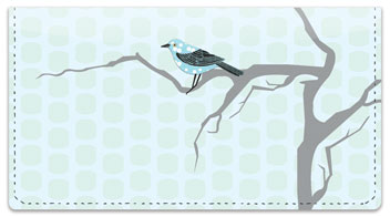 Birds on Branches Checkbook Cover