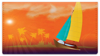 Sailing Adventure Checkbook Cover