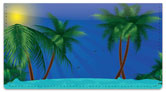 Tropical Getaway Checkbook Cover