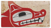 Totem Pole Checkbook Cover