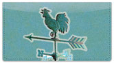 Weather Vane Checkbook Cover