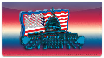 Patriotic Party Checkbook Cover