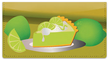 Slice of Pie Checkbook Cover