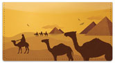 Egyptian Checkbook Cover