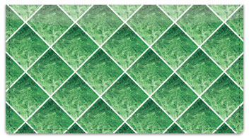 Green Marble Tile Checkbook Cover
