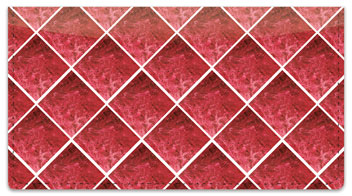 Red Marble Tile Checkbook Cover