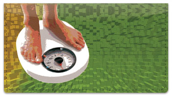 Weight Loss Checkbook Cover