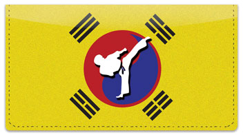 Tae Kwon Do Checkbook Cover