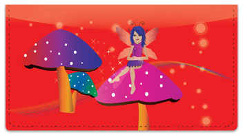 Magical Fairy Checkbook Cover