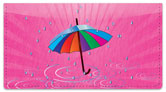 April Shower Checkbook Cover