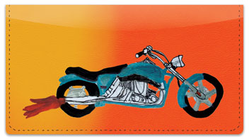 Motorcycle Daydream Checkbook Cover